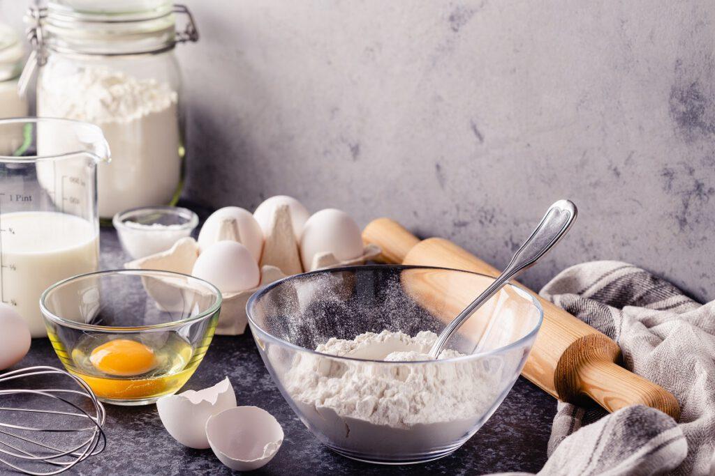 ile szklanek to pół kg mąki