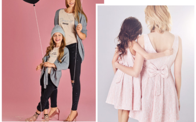 Identyczne sukienki dla mamy i córki